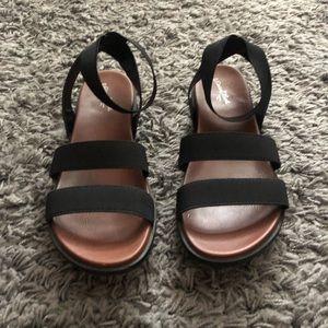 Black Bandi Sandal